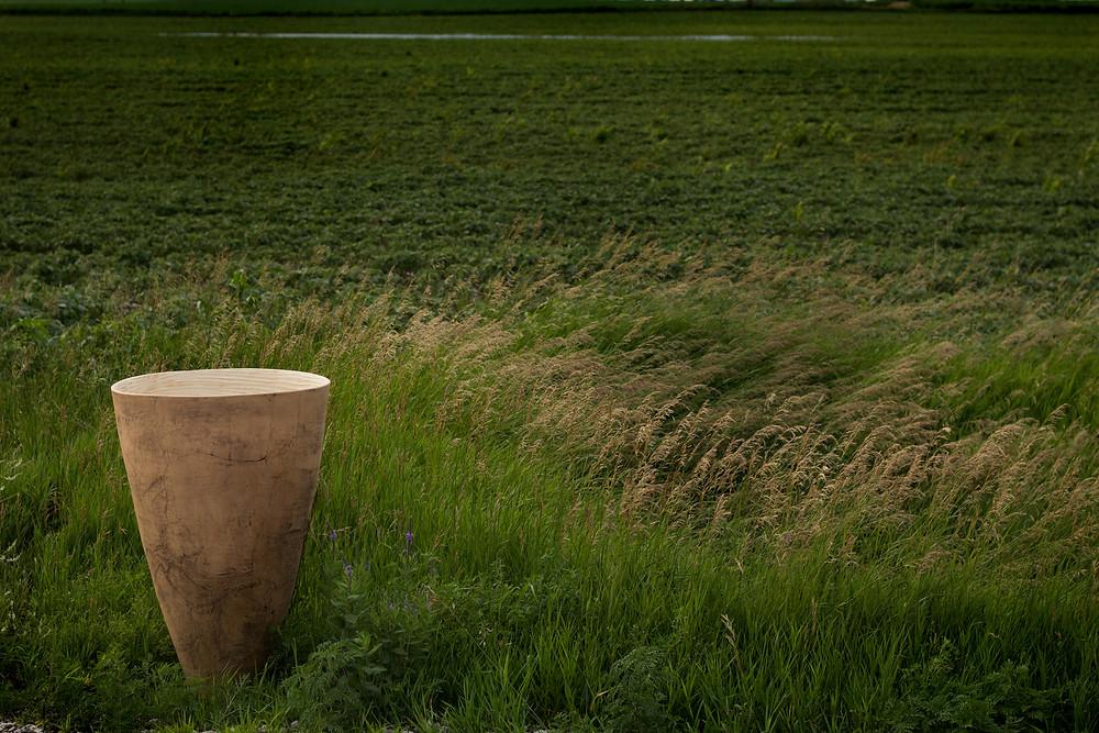Sentinel (large stoneware vessel)