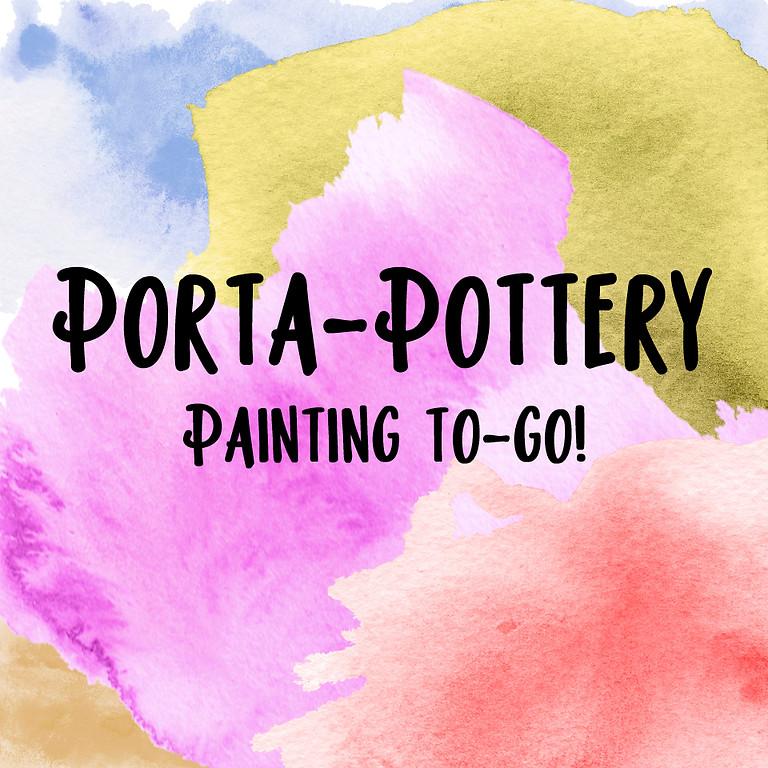 Porta-Pottery: to-go kits