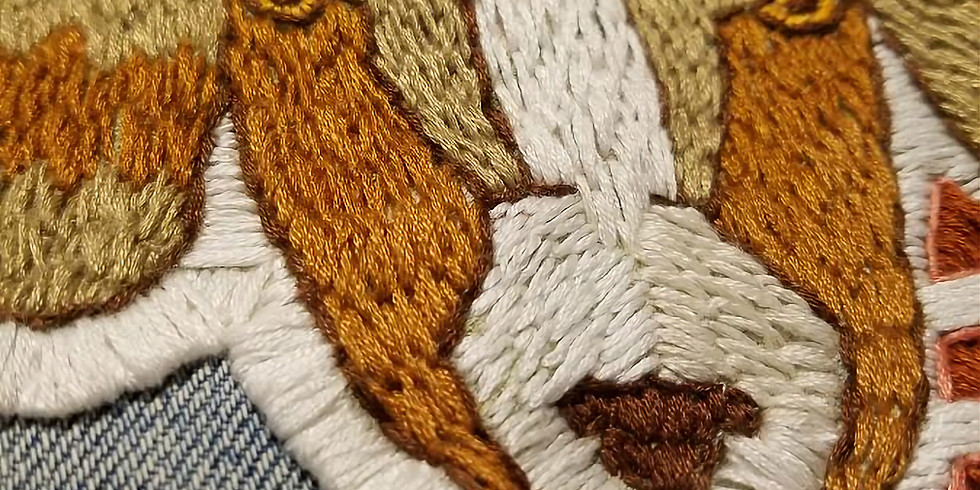 Embroidery with Emily