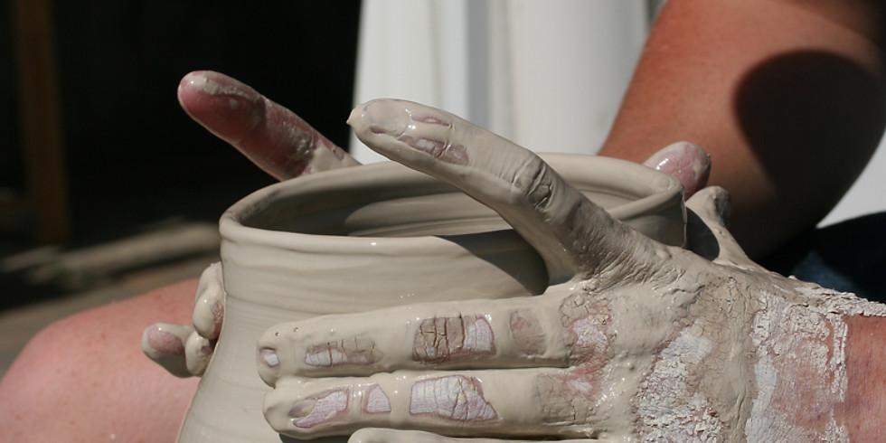 Pottery wheel private lesson