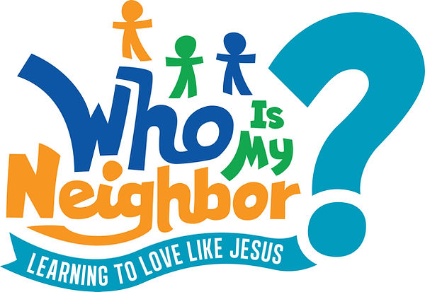 Who Is My Neighbor logo color, large cop