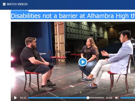 ABC News 7 Celebrates AHS Thespians' Dedication to Inclusion