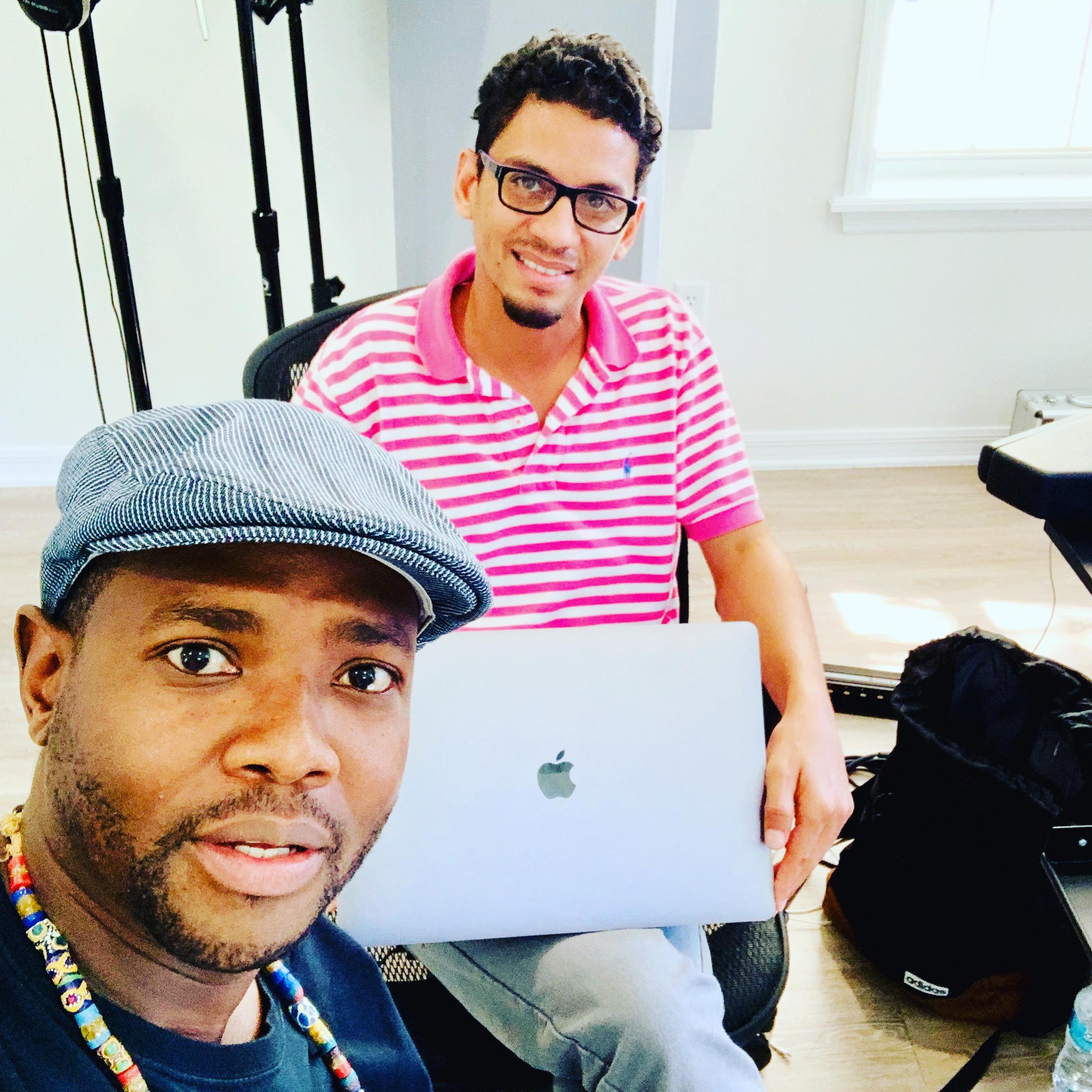 Nathi Gcabashe and Adoniram Santos