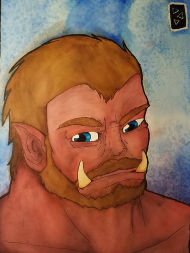 Orcish Portrait