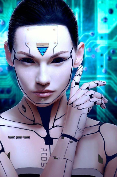 Anelly, Female Mercurian Android