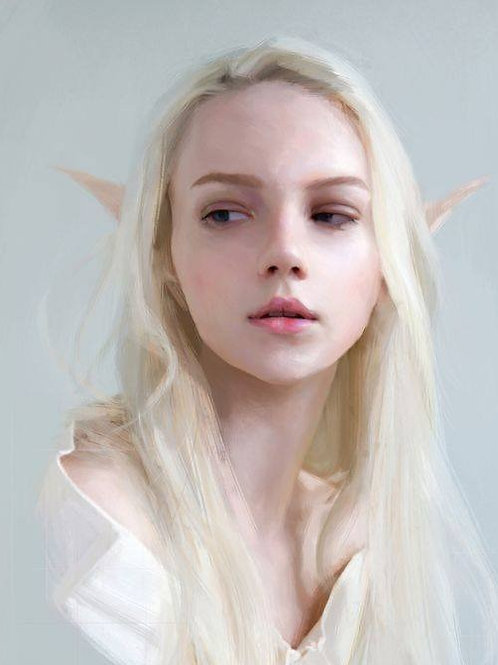 Larialle, Female Light Court Elf