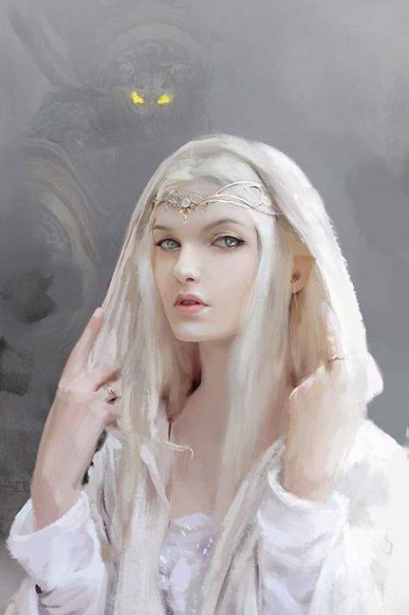 Oliras, Female Winter Elf