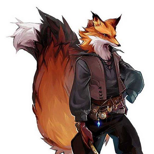Liam, Male Red Fox Anthropoid