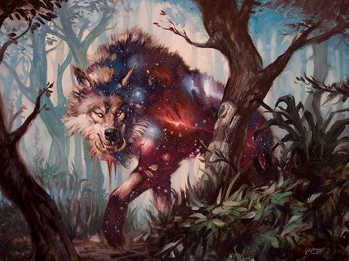 Nyxborn Wolf Spelled Servitor