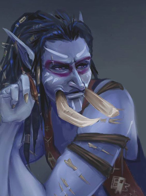 Kualdorr, Male Mystery Spirit