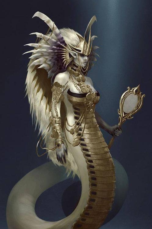 Elysra, Female Celestial Tharwa Naga