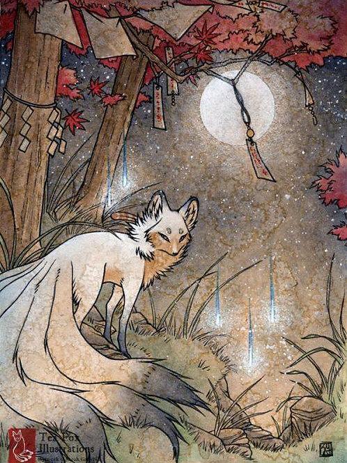 Kiaken, Male Kitsune