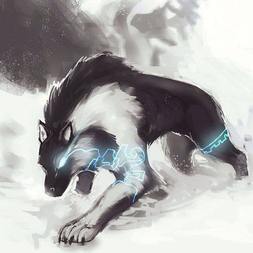 Folourre, Male Storm Wolf