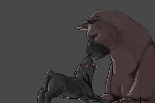 Hell Pup Adoption