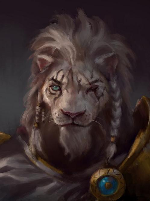 Alexei, Male White Tiger Anthropoid