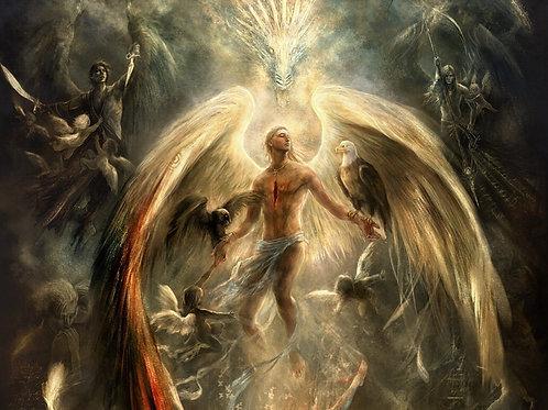 Female Light Arts Mystery Angel