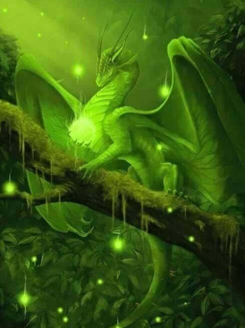 Phaira, Female Green Dragon