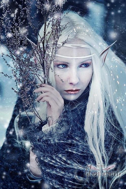 Aelissan, Female Winter Elf