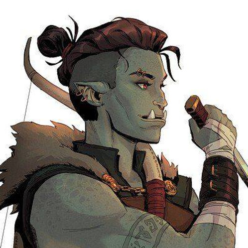 Riakne, Female Lunali Half-Orc