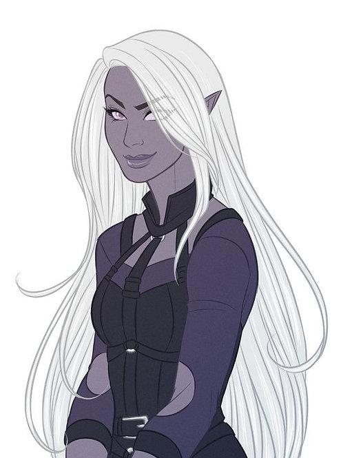 Aliannika, Female Necrotic Shade Elf