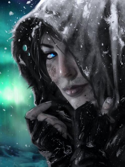 Venari, Female Psychic Dhampir