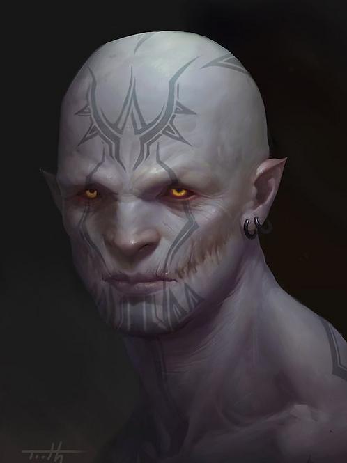 Jeroahm, Male Mystery Spirit