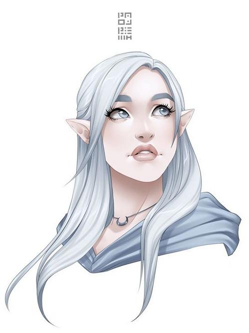 Viviarra, Female Platinum Elf