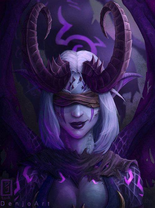 Elisra, Deep Realm Demoness