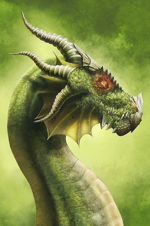 Avestro, Female Green Dragon