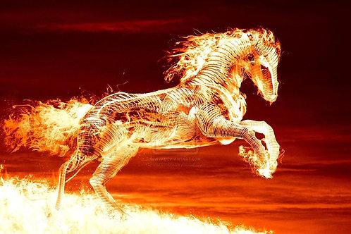 Dipurezsh, Male Revenant Stallion