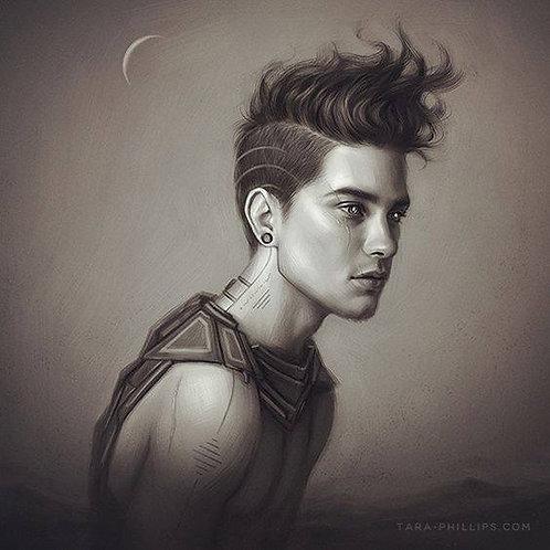Leirian, Male Elemental Air Ifrit Djinn