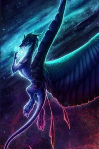 Yldarri, Male Aurora Borealis Dragon