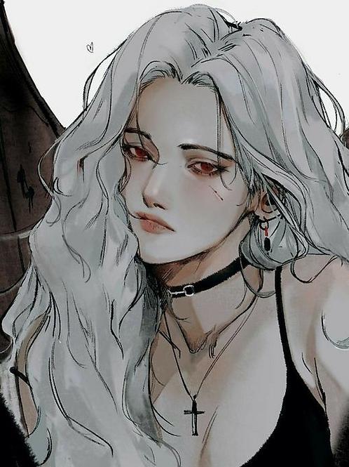 Alianna, Female Mystery Spirit