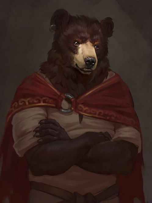 Gordon, Male Bergman's Bear Anthropoid