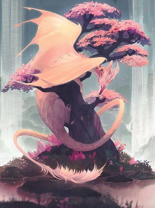 Eiliea, Female Pink Dragon