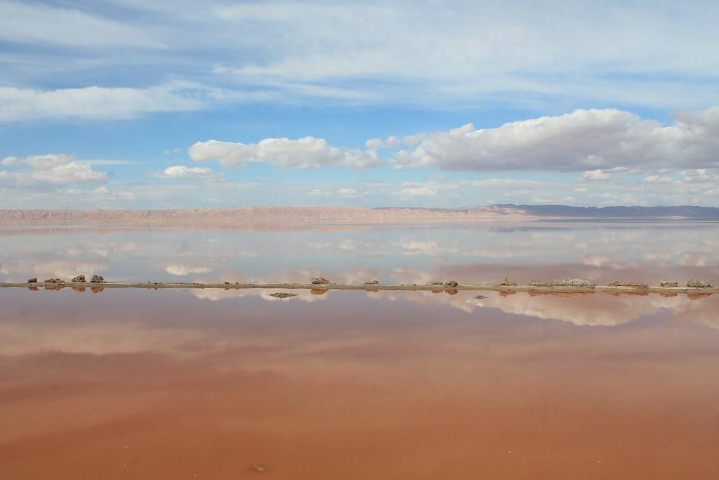 Chott El Jérid, un immense lac de sel a
