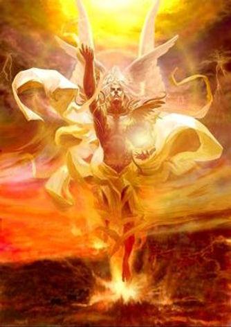 Archange de feu, solstice d'été