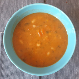 Fasolada (beans soup)