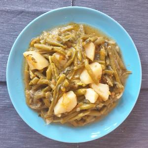 Fasolakia (green beans soup)