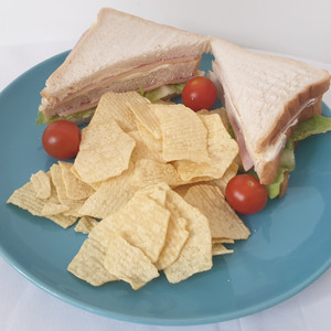 Cheese and ham club