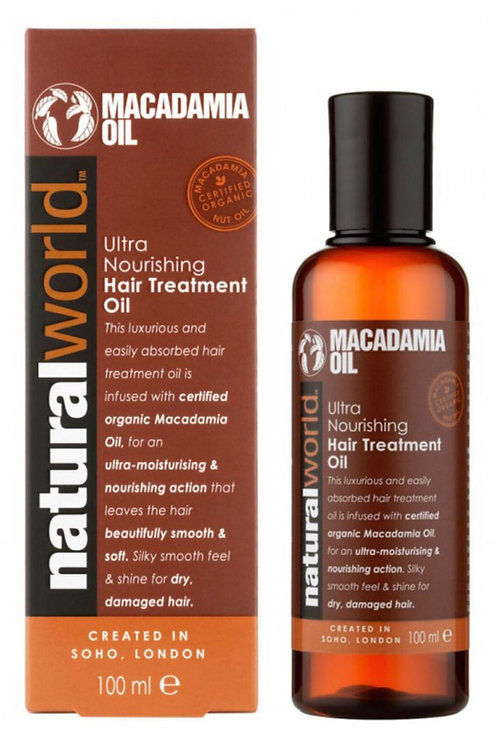 Macadamia Oil - Ultra Nourishing Hair Treatment Oil