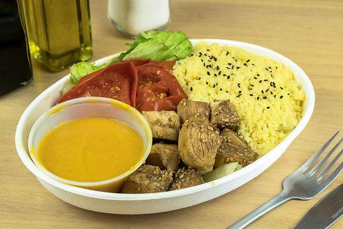 Ensalada pollo aceto cous cous
