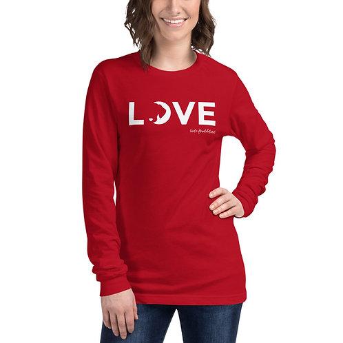 Love Logo Unisex Long Sleeve Tee