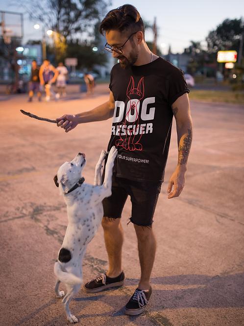 Dog Rescuer Superpower Unisex T-Shirt