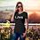 Thumbnail: Love Luna Unisex V-Neck T-Shirt
