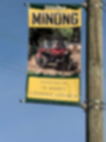 Minong Street Banner Sponsored by St. Ma
