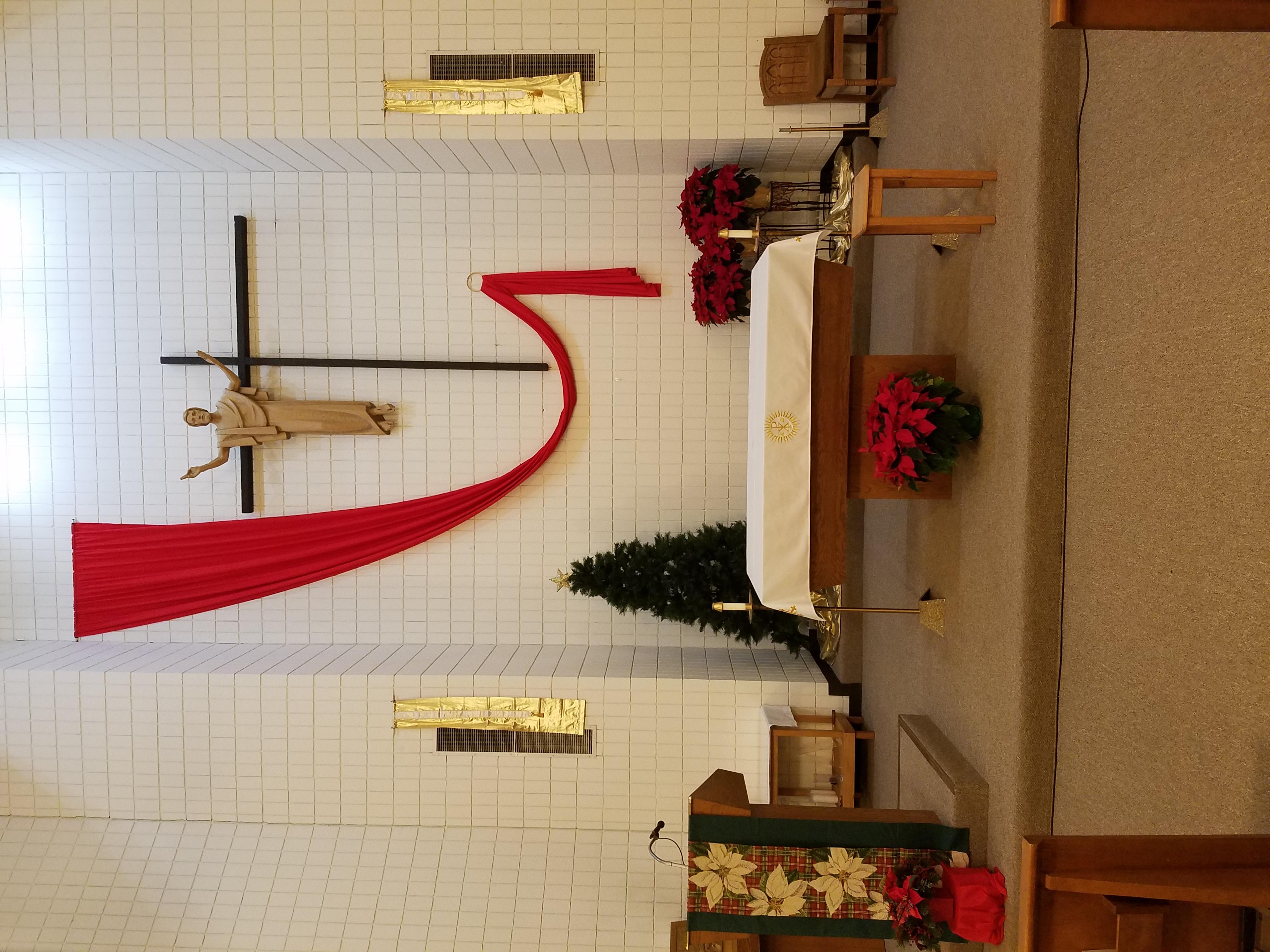 St. Mary Christmas Altar