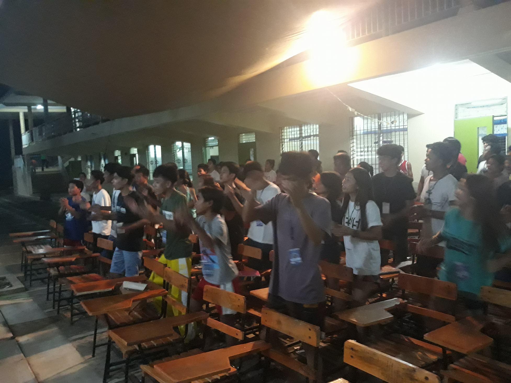 Worship night with Ptr. Henry Santos