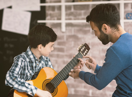 How to support your child's instrumental practice