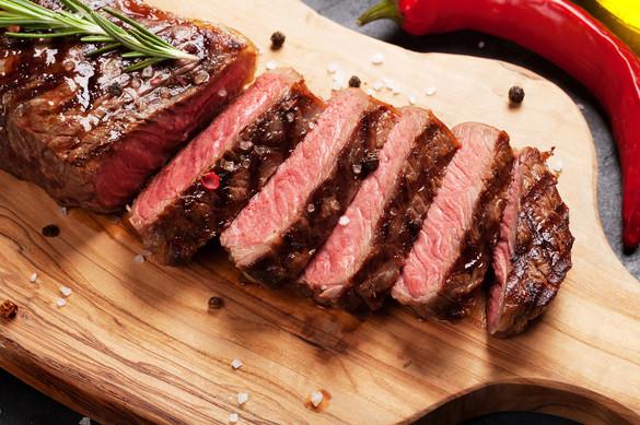 Grilled Striploin steak (Argentina)